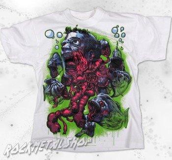 koszulka dziecięca BLACK ICON - PIRANHA ATTACK white (JICON057WHT)