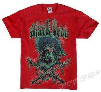 koszulka dziecięca BLACK ICON - PIRATE (JICON098RED)