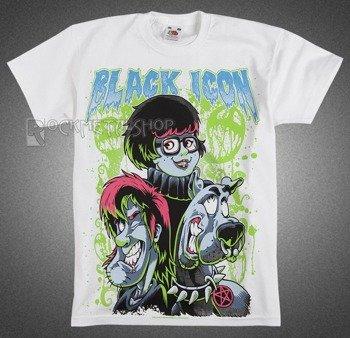 koszulka dziecięca BLACK ICON - SCOOBY (JICON008 WHITE)