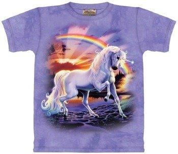 koszulka dziecięca THE MOUNTAIN - RAINBOW UNICORN
