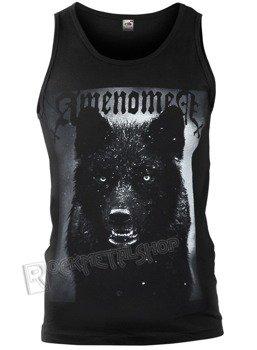 koszulka na ramiączkach AMENOMEN - BLACK WOLF (OMEN024KR)