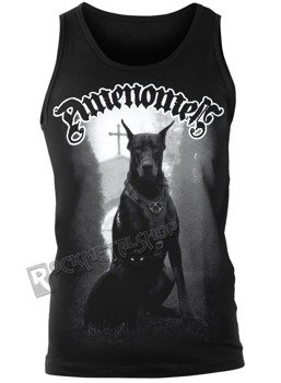 koszulka na ramiączkach AMENOMEN - DOG AND CAT (OMEN079KR)
