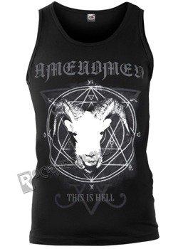 koszulka na ramiączkach AMENOMEN - THIS IS HELL (OMEN056KR)