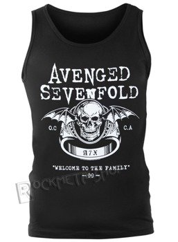 koszulka na ramiączkach AVENGED SEVENFOLD - WELCOME TO THE FAMILY