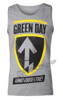 koszulka na ramiączkach GREEN DAY - UNO DOS TRE BADGE