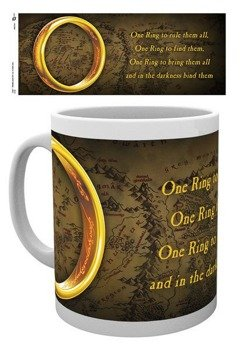 kubek LORD OF THE RINGS - ONE RING