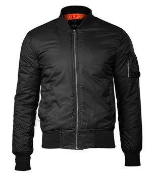 kurtka flyers BASIC BOMBER JACKET black