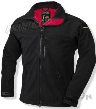kurtka polar CLASSIC ARMY FLEECE JACKET WITH MEMBRANE BLACK