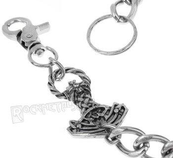 łańcuch do kluczy/portfela MŁOT THORA