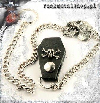 łańcuch na klucze/portfel CRANK HEAD Alchemy Gothic