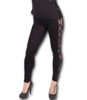 legginsy SPIRAL - ROSE LACE