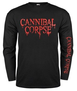 longsleeve CANNIBAL CORPSE - RED LOGO 2