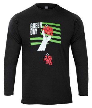 longsleeve GREEN DAY - GREEN FLAG
