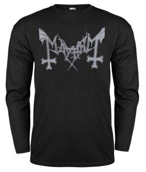 longsleeve MAYHEM - GREY LOGO