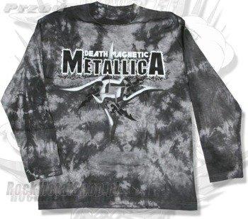 longsleeve METALLICA - DEATH MAGNETIC barwiony