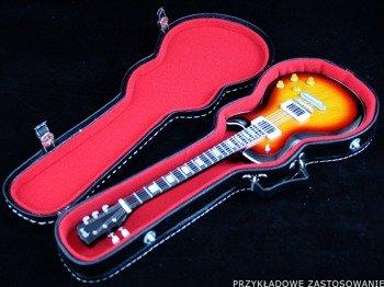 miniatura futerału gitarowego LES PAUL (CZERWONY)