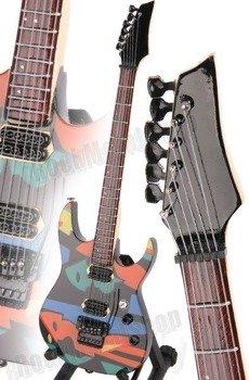 miniaturka gitary DREAM THEATER - JOHN PETRUCCI IBANEZ JPM PICASSO STYLE (MPA155)