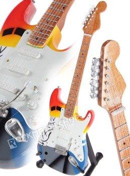 miniaturka gitary ERIC CLAPTON - FENDER STRATO CRASH 3