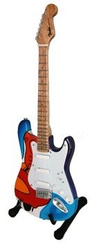 miniaturka gitary ERIC CLAPTON - STRAT CRASH 2