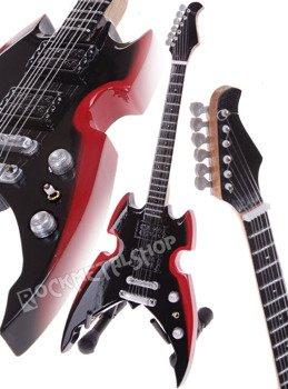 miniaturka gitary KISS - PAUL STANLEY: SILVERTONE APOCALYPSE