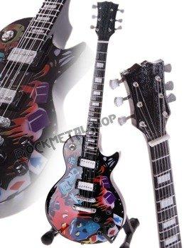 miniaturka gitary METALLICA - JAMES HETFIELD: LES PAUL CULTURE GRAPHICS