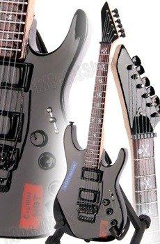 "miniaturka gitary METALLICA - KIRK HAMMETT: ESP KH-2 VINTAGE ""CAUTION HOT"" (MPA130)"