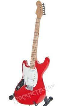miniaturka gitary NIRVANA - KURT COBAIN: MUSTANG RED
