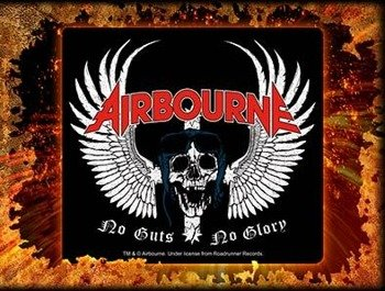 naklejka AIRBOURNE - SKULL WINGS