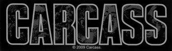 naklejka CARCASS - LOGO