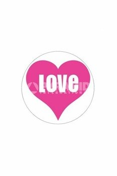 naklejka LOVE (PS6857)