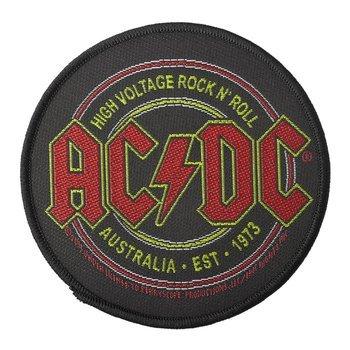naszywka AC/DC - HIGH VOLTAGE ROCK N' ROLL