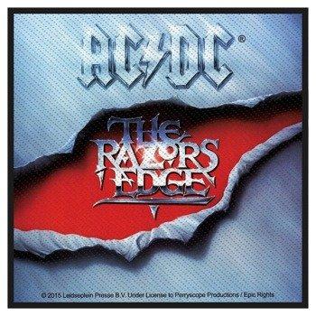 naszywka AC/DC - THE RAZORS EDGE
