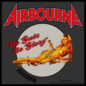 naszywka AIRBOURNE - NO GUTS NO GLORY
