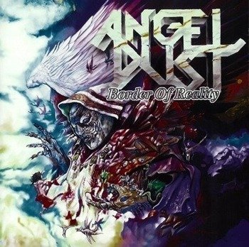 naszywka ANGEL DUST - BORDER OF REALITY