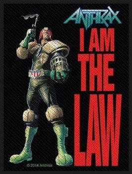 naszywka ANTHRAX - I AM THE LAW