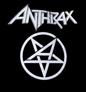 naszywka ANTHRAX - LOGO