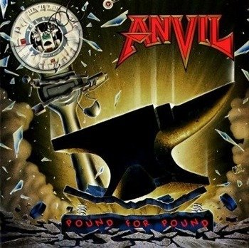 naszywka ANVIL - POUND FOR POUND