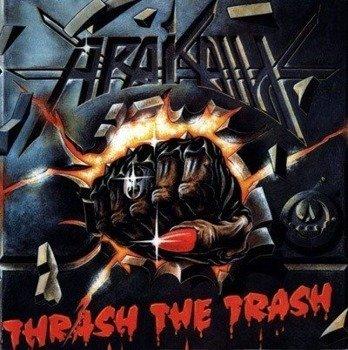 naszywka ARAKAIN - THRASH THE TRASH
