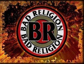 naszywka BAD RELIGION - BR CIRCULAR