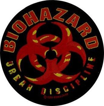 naszywka BIOHAZARD - URBAN DISCIPLINE