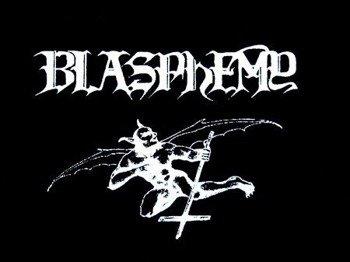 naszywka BLASPHEMY