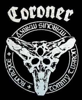 naszywka CORONER SKULL
