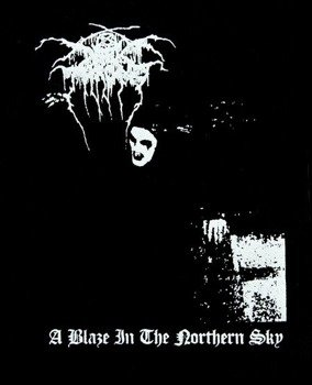 naszywka DARKTHRONE - A BLAZE IN THE NORTHERN SKY