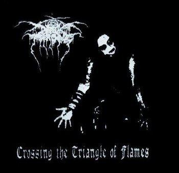 naszywka DARKTHRONE - CROSSING THE TRIANGLE OF FLAMES