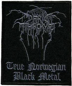 naszywka DARKTHRONE - TRUE NORVEGIAN BLACK METAL