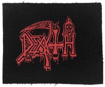 naszywka DEATH - OLD RED LOGO