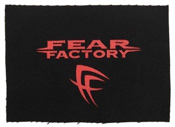 naszywka FEAR FACTORY - LOGO SIGN RED