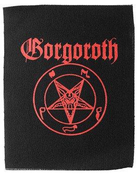 naszywka GORGOROTH - PENTAGRAM BAPHOMET RED