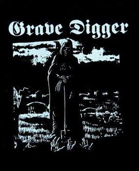 naszywka GRAVE DIGGER