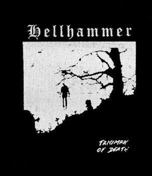 naszywka HELLHAMMER - TRIUMPH OF DEATH